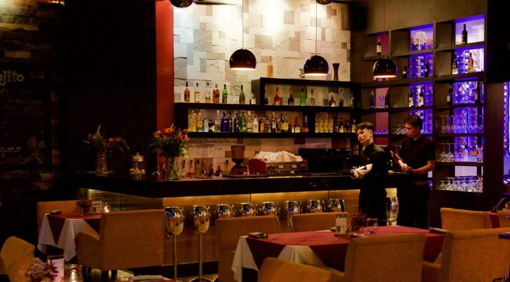 Picture of our bar